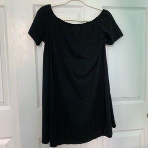 Never worn SIMPLE BLACK OFF THE SHOULDER DRESS